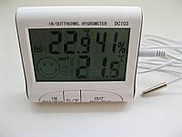 Цифровой термометр с гигрометром DC-103