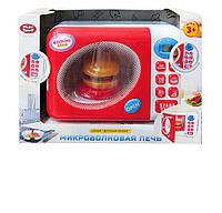 Игрушечная микроволновая печь с кнопками 2305