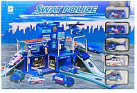 """Игровой набор """"Паркинг, гараж с металлическими машинками"""" 660-68"""