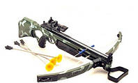 Арбалет детский Стрелок с лазерным прицелом, стрелы на присосках