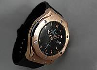Мужские часы HUBLOT - GENEVE CARBON, цвет золото, черный циферблат