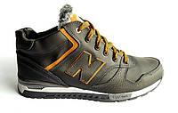 Мужские  зимние кожаные ботинки NB Cruz