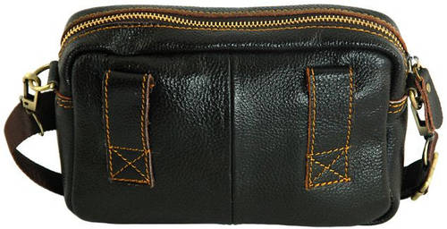 Мужская сумка из натуральной кожи Traum 7172-12, коричневый