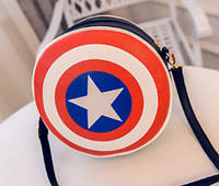 Компактная сумка Щит Капитана Америки/первого мстителя