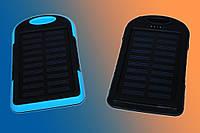 Портативное зарядное устройство Power Bank + Solar Panel 10800mAh