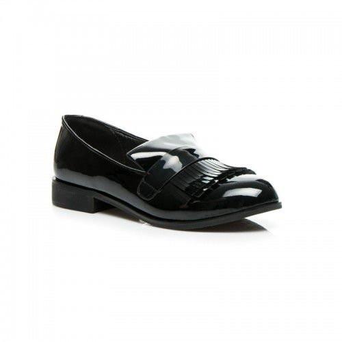 Модные  лоферы  закрытые туфли