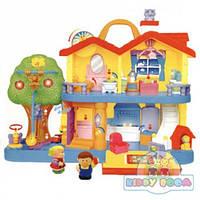 Игровой набор Загородный дом со световыми и звуковыми эффектами Kiddieland 032730