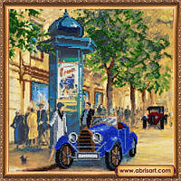 Набор для вышивания бисером иконы Абрис Арт АВ-326 Ретро бульвар