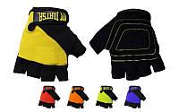 Перчатки для фитнеса,бодибилдинга,зала,тренировочные ,- MATSA MA-4906-M (PVC, PL, )