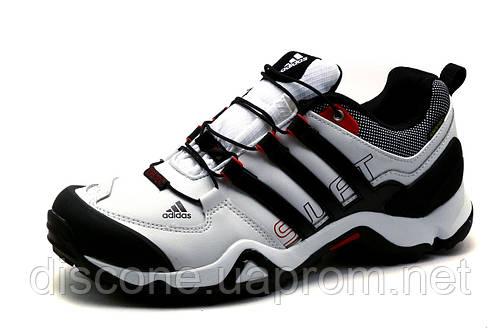 Кроссовки Adidas Terrex, мужские, кожаные, белые