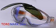 Очки Provide не потеющее поликарбонатное стекло, антицарапина, плюс линза DIN6