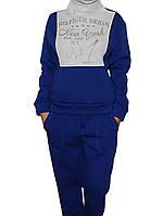 Спортивный костюм женский теплый (флис) три цвета Турция рр. 46, 48