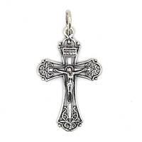 Мужской серебряный православный крест 0083