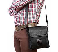 Мужская кожанная сумка формата А5 Alvi AV-4-2487