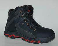 Зимние спортивные ботинки для мальчика, ТОМ.М арт. black sports, 31-36