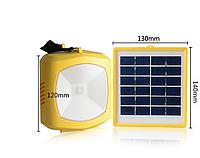 Переносной фонарь на солнечных батареях FM радио