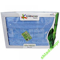 Простынь бамбук KARACAN 200х220 в ассортименте