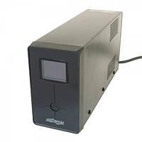 ИБП EnerGenie EG-UPS-032 850VA LCD, USB, IEC+Schuko