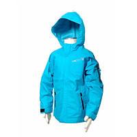 Детская утепленная ветровка демисезонная голубая для девочек и мальчиков (унисекс)