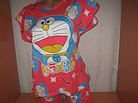 Пижама женская хлопок футболка, шортики, р.46-50