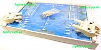 Морской бой игра настольная детская. Качественная. Произведена в Украине