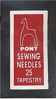 Иглы для вышивания № 25
