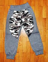 Теплые спортивные штаны для мальчика Камуфляж 104/110 рр.