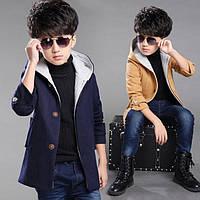 Пальто детское кашемировое для мальчика