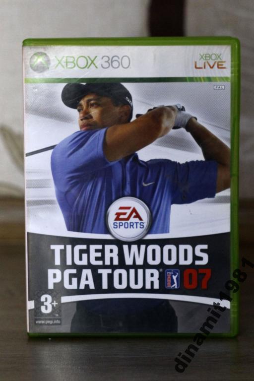 Игра для Xbox 360 Tiger Woods PGA Tour 07 ЛИЦЕНЗИЯ