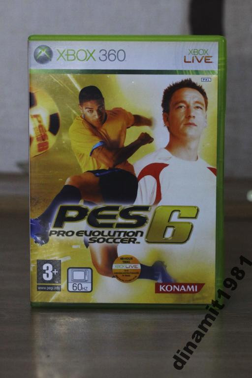 Игра для Xbox 360 Pro Evolution Soccer 06 ЛИЦЕНЗИЯ