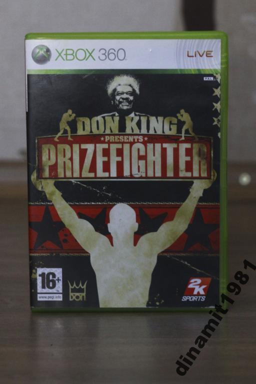 Игра для Xbox 360 Prizefighter Don King ЛИЦЕНЗИЯ
