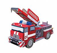 Сборная игрушка из картона. Серия: Техника. Пожарная машина