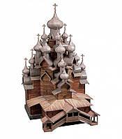 Картонная модель церковь Преображения Господня (о. Кижи) 151 Умная бумага