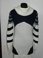 Туника теплая вязанная женская Emir 735 рр. (2 цвета) 46, 48, 50 Турция