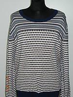 Женские свитера больших размеров осень - зима La Rue 2160 Турция (две расцветки) рр. 52-56