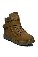 Женские рыжие ботинки на шнурках зимние эко кожа размеры 36, 37, 38, 39,40