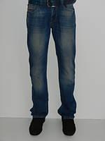 Светлые джинсы мужские демисезон Paul&Shark 081-270 Турция синие с потертостями размер 29, 30, 31