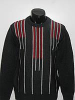 Теплый мужской зимний свитер вязаный размер M, L, XL, XXL MaxMen Турция