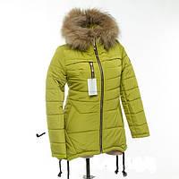 Купить зимнюю куртку-парку на девочек-подростков