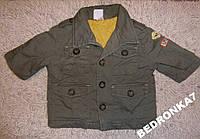 Куртка только для стильных! как новая! от 0 до 2 лет
