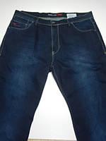 Джинсы батал на высоких плотные мужские Cen&Cor1092 темно-синие размер 42