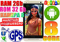 Новый HTC One M7! 8 ядер, GPS, 2Gb/32Gb! Камера 8