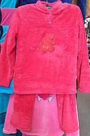 Однотонная пижама из микрофибры