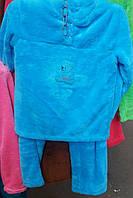 Зимняя пижама с вышывкой на груди
