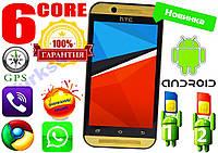 НОВЫЙ HTC ONE M8! 6 ЯДЕР, 2 СИМ, GPS,3G+ГАРАНТИЯ!