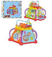 Развивающая музыкальная игрушка для детей Мультибокс 806