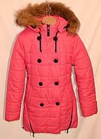 """Зимнее пальто """"Кнопка"""" для девочек и подростков"""
