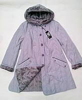 Демисезонное женское пальто, куртка большие размеры с 54 по 64 р-р