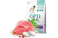 OptiMeal корм для собак мелких пород с уткой 4кг