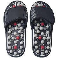 Тапочки массажные slipper, антистрессовые тапочки, рефлекторные массажные тапочки massage slipper